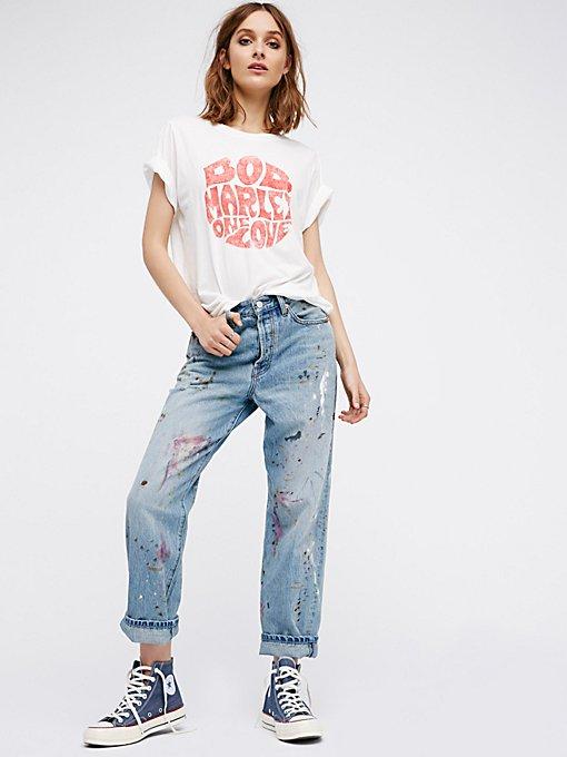 Product Image: Painted Boyfriend Jeans