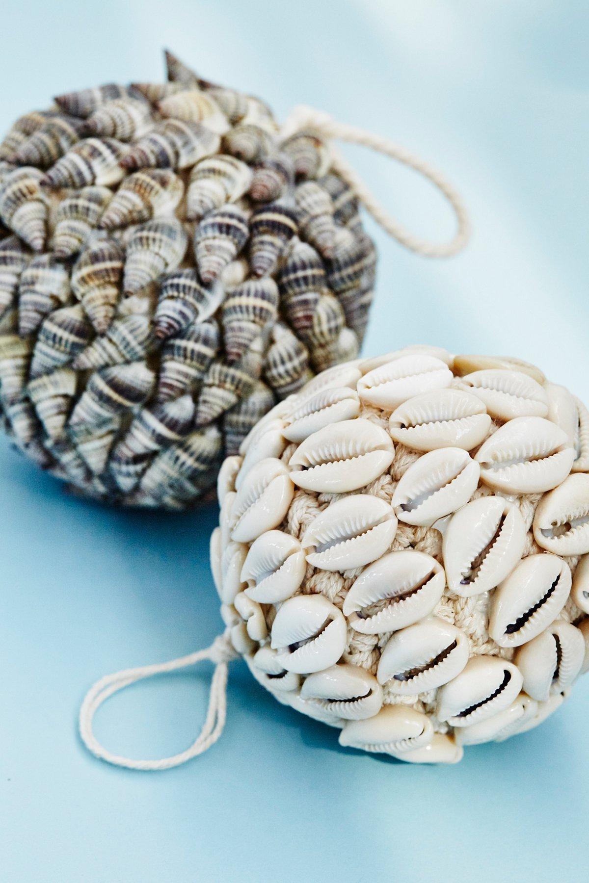 贝壳球形装饰品