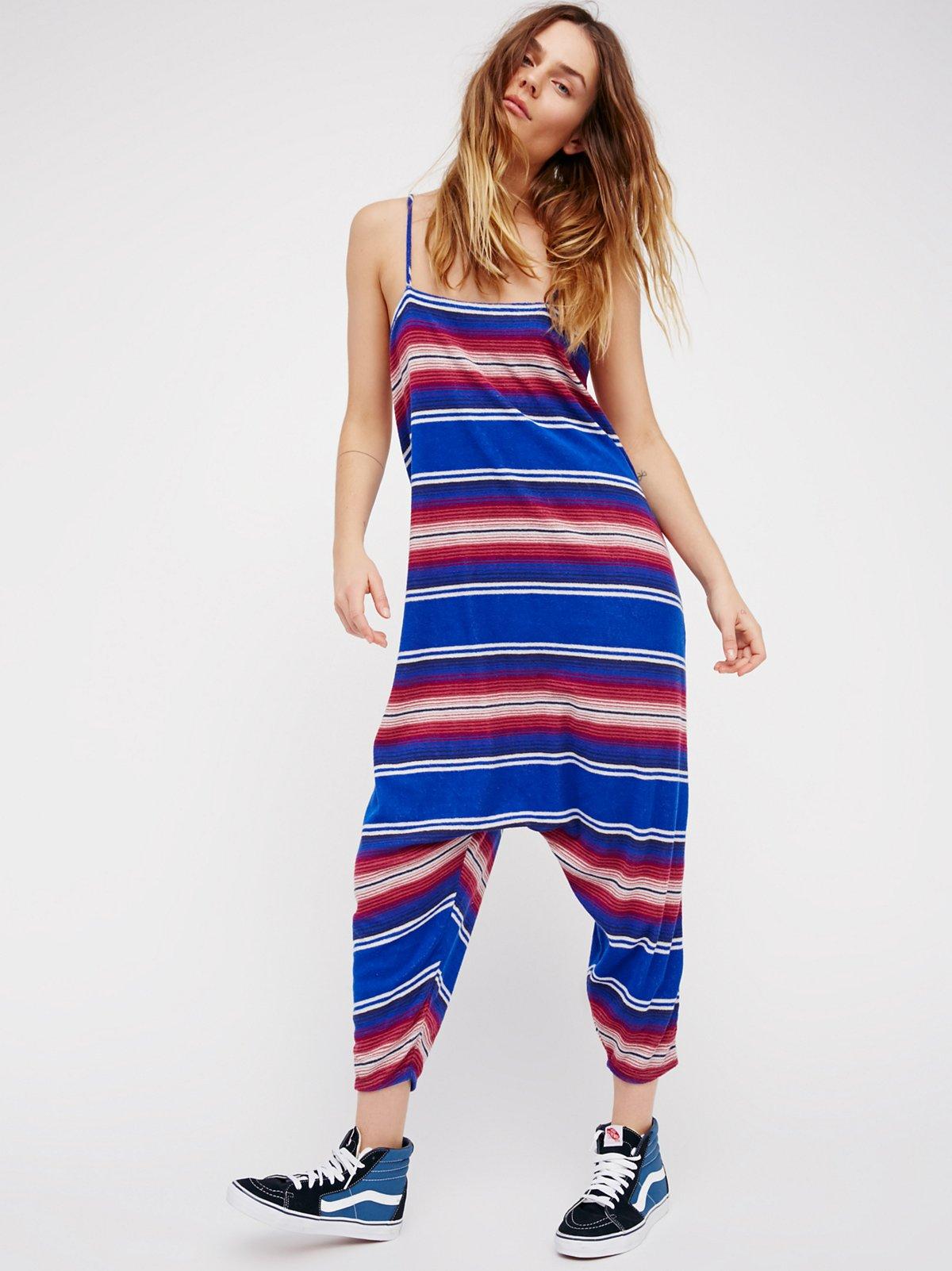 Surf Stripe Romper