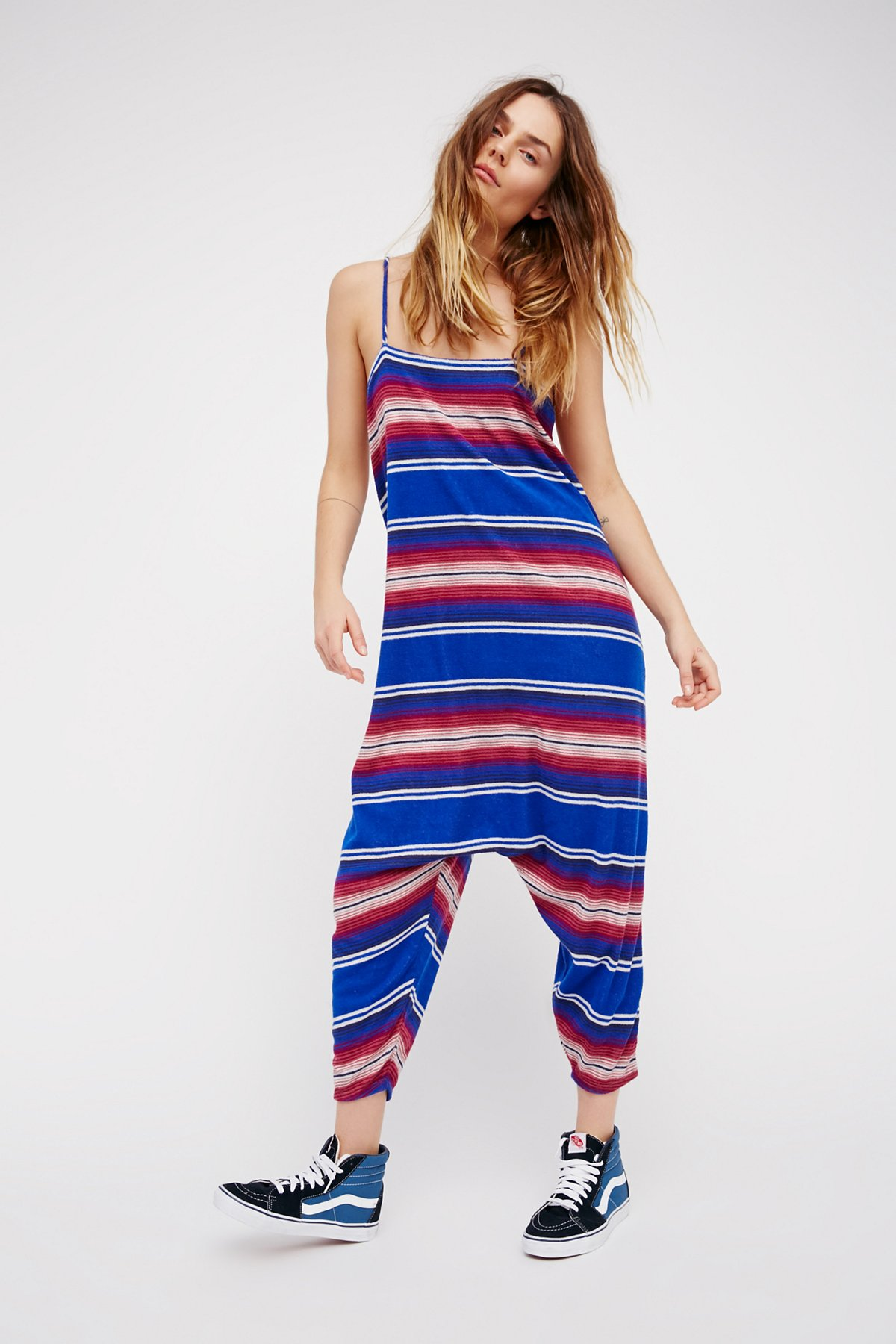 Surf Stripe Jumpsuit