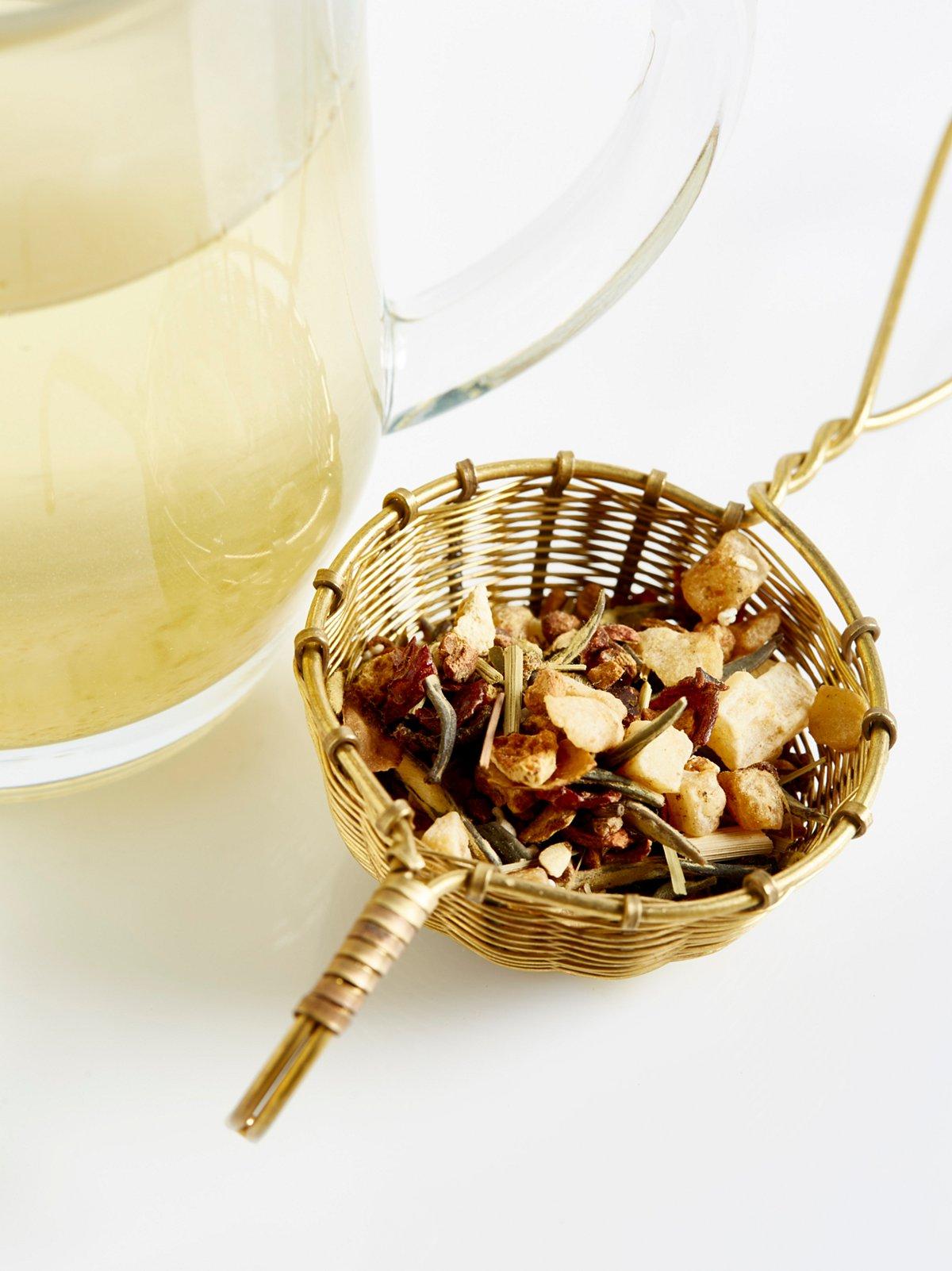 小巧黄铜滤茶器