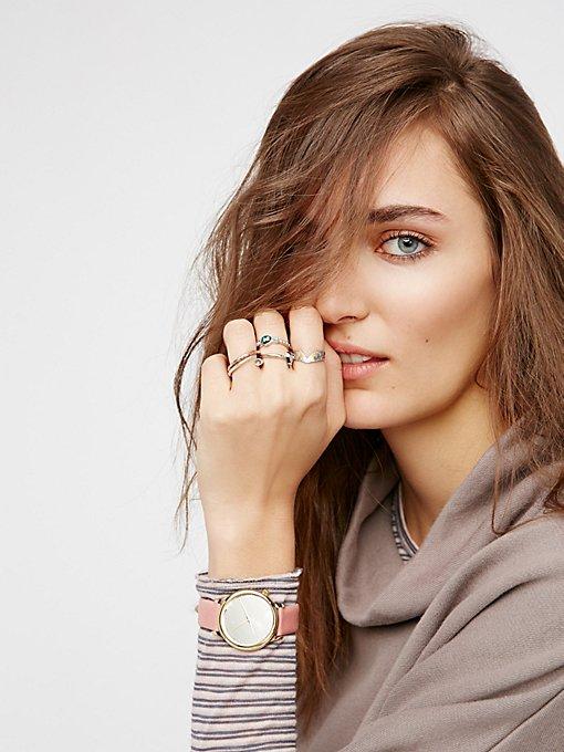 Product Image: Estelle反光表镜真皮腕表
