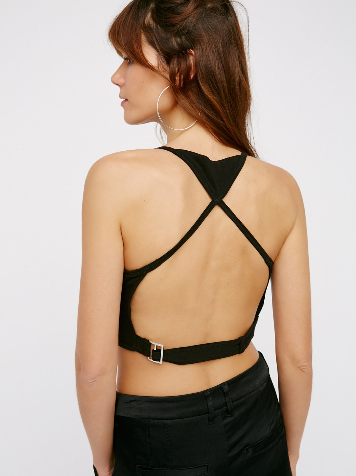 So Many Ways Harness Crop Top