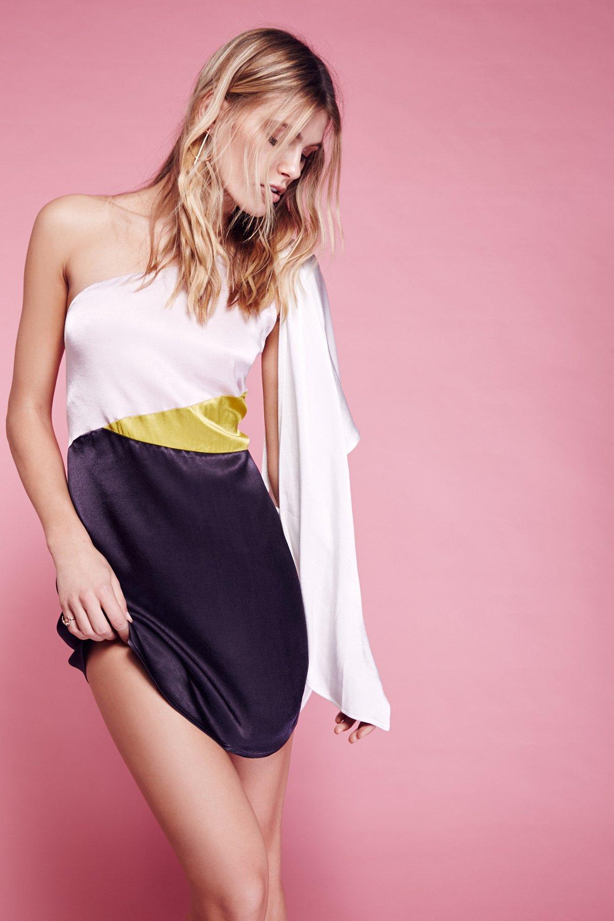 Mandy Colorblock Mini Dress