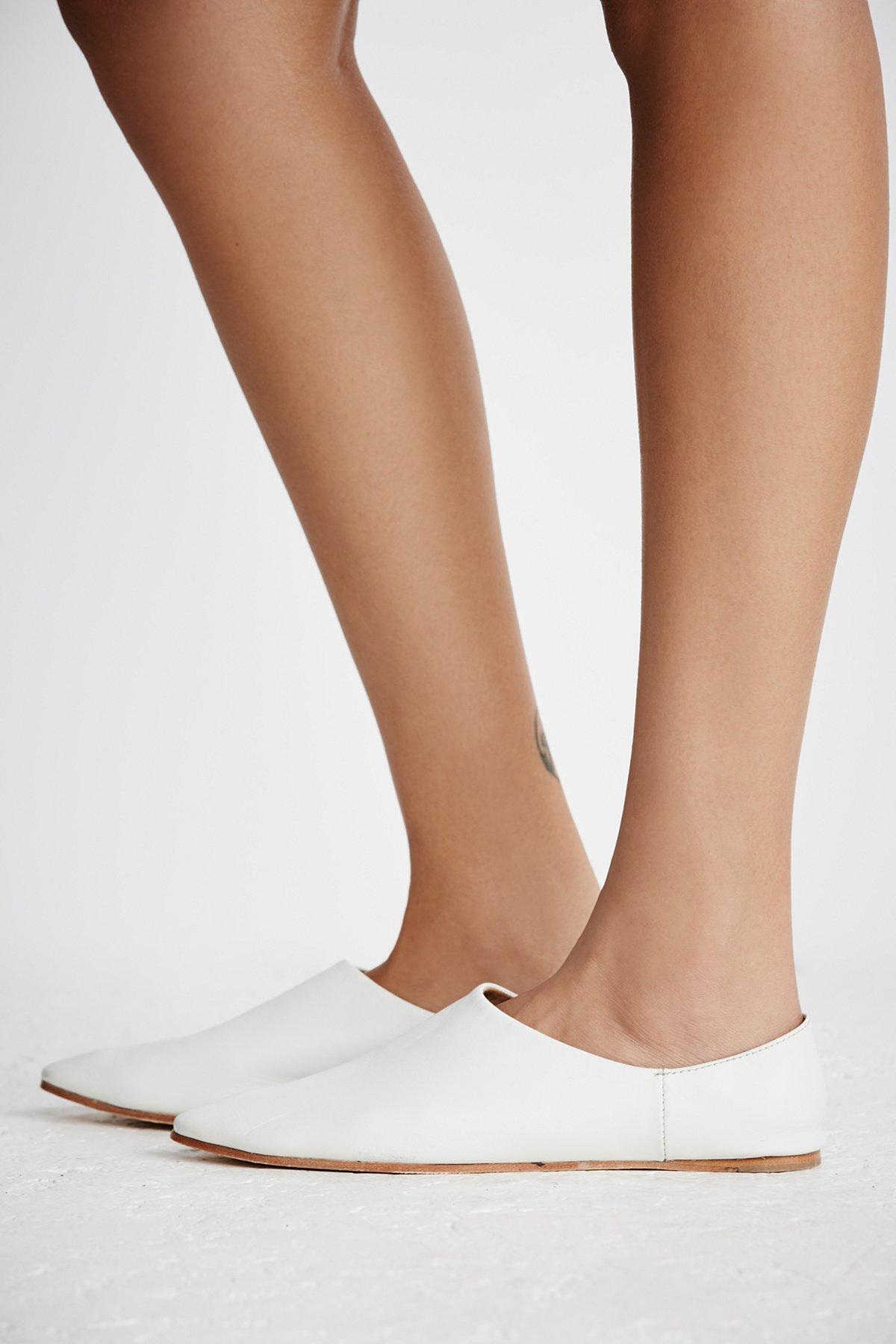 Lexie Leather Flat