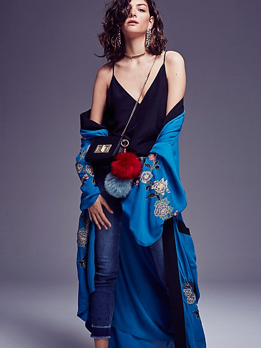 Product Image: 绣花和服式上衣
