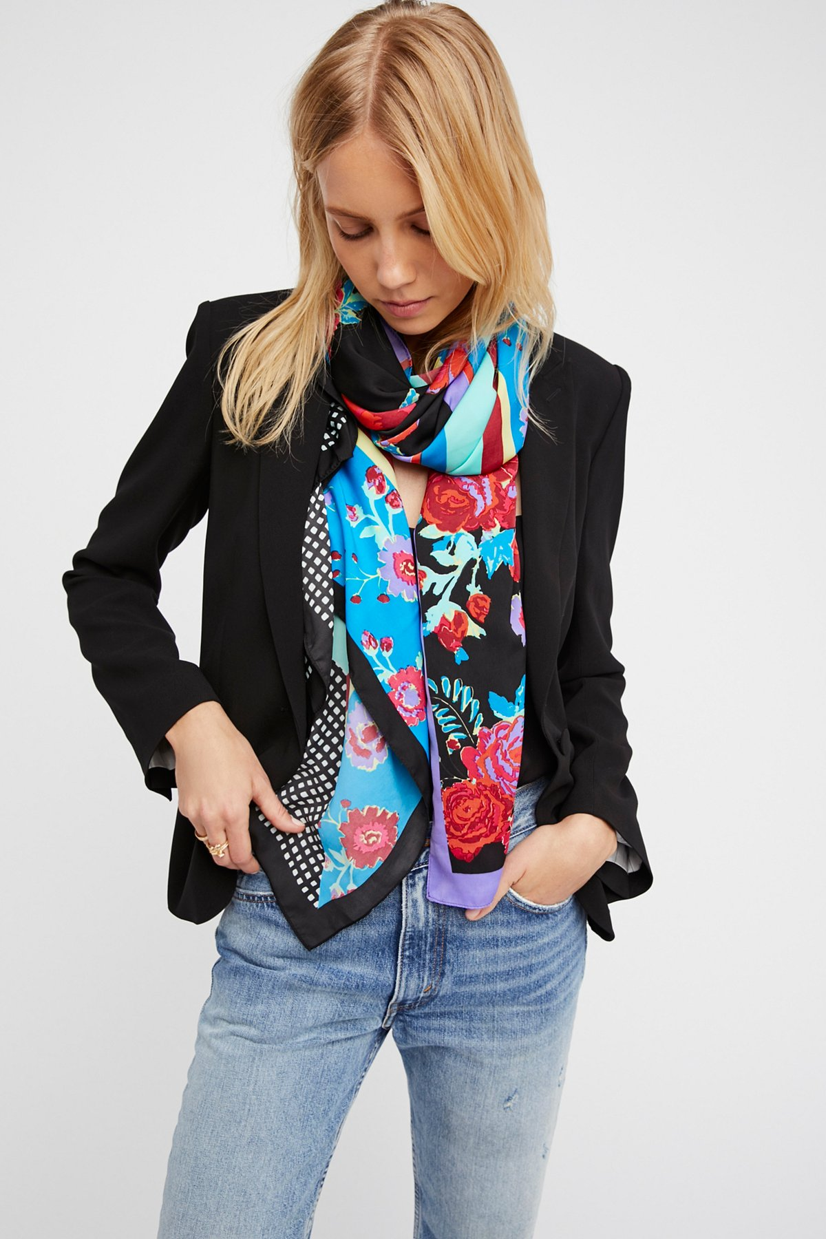 In the Mix Printed Scarf