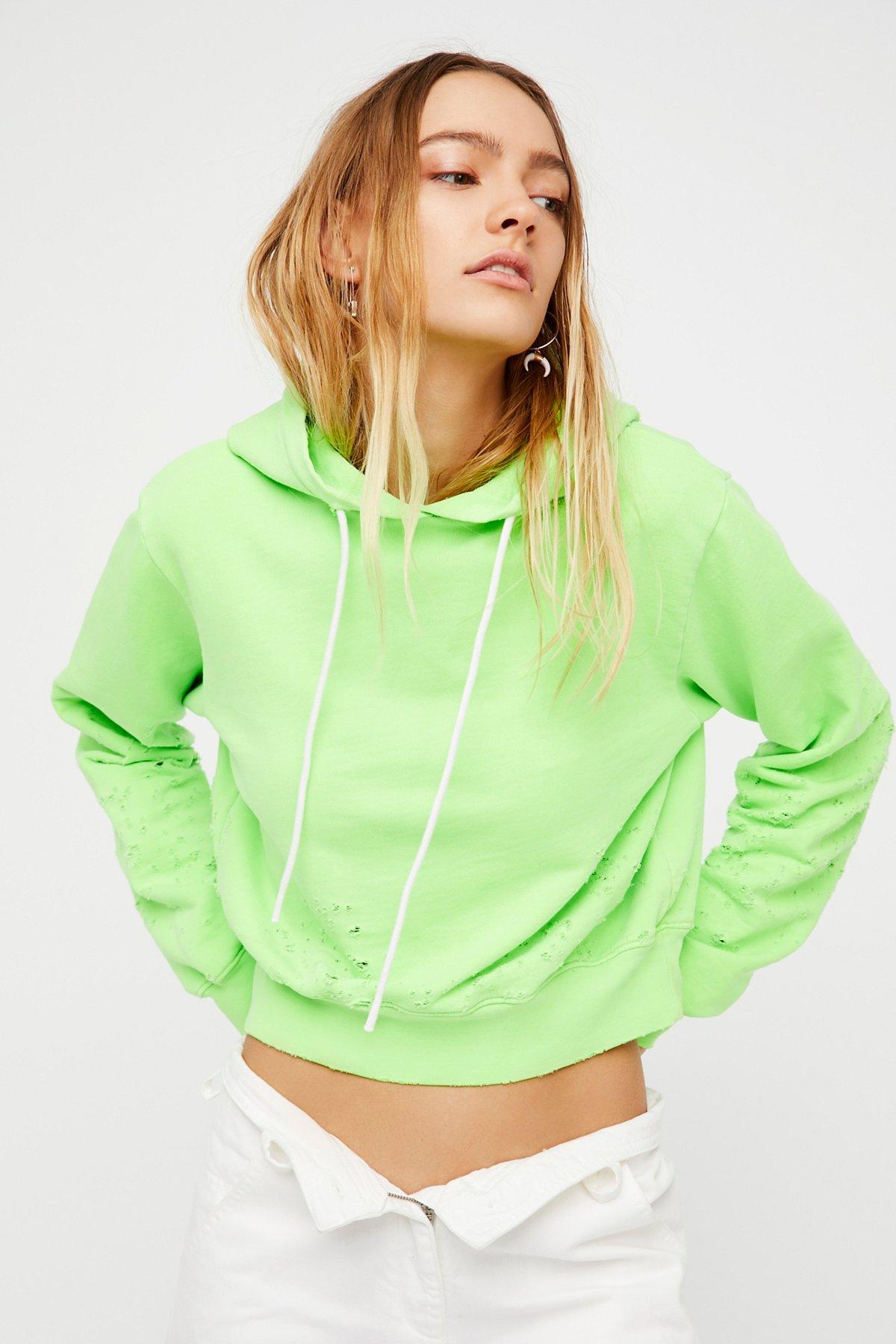 Milan Cropped Pullover Hoodie