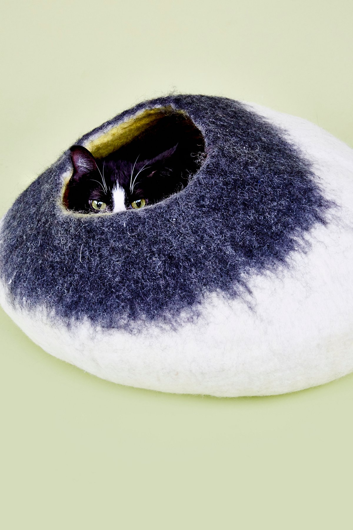 Two Color Cat Cave