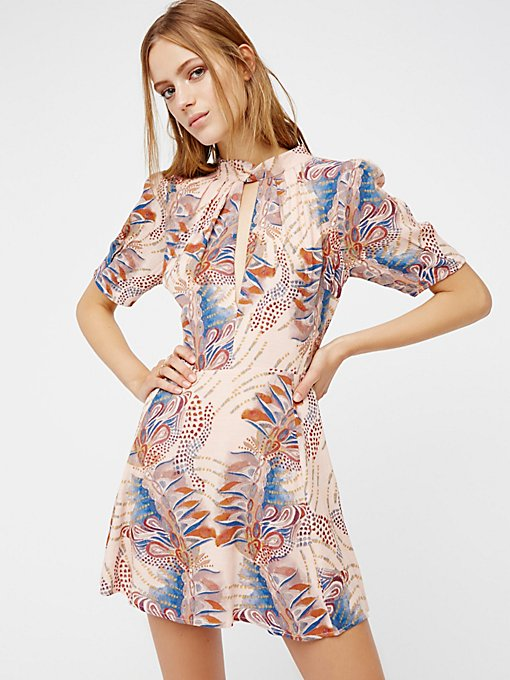 Product Image: Glassgow几何图案迷你连衣裙