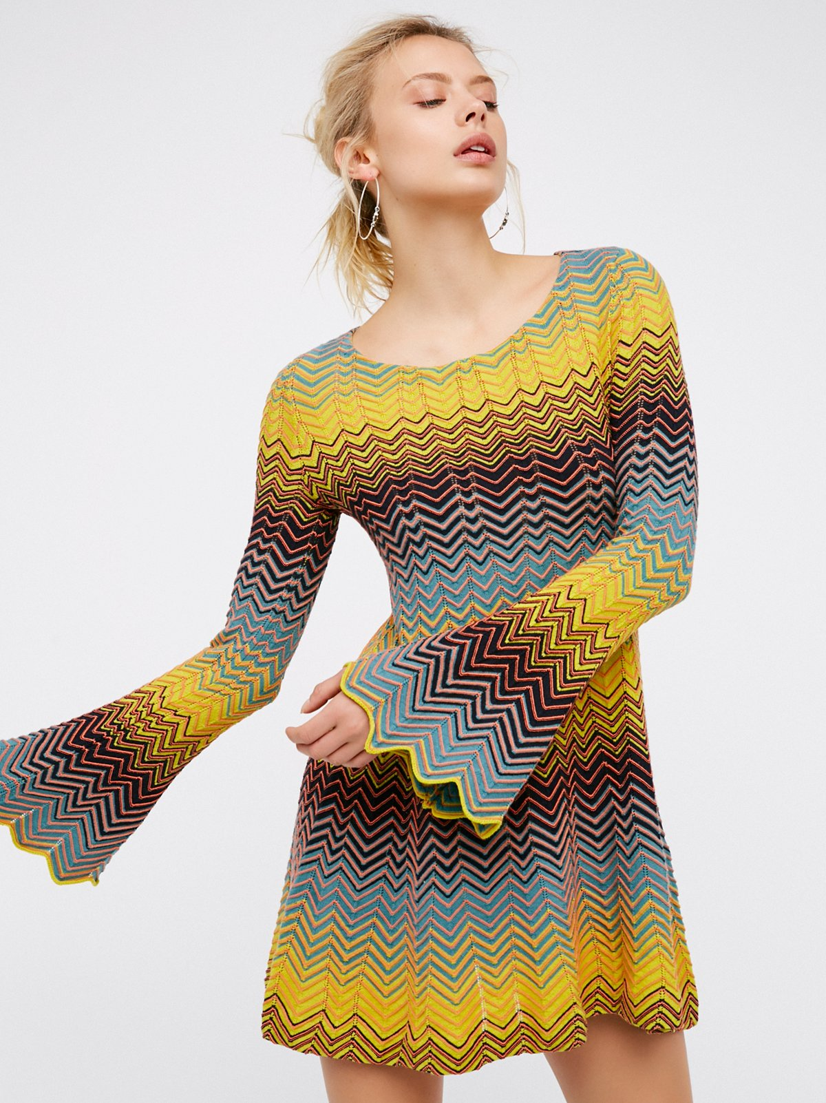 Bella Sweater迷你连衣裙