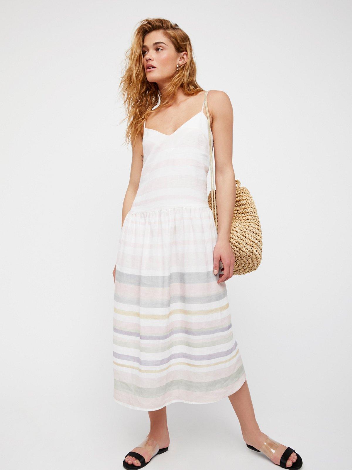 Drop Waist Midi Dress