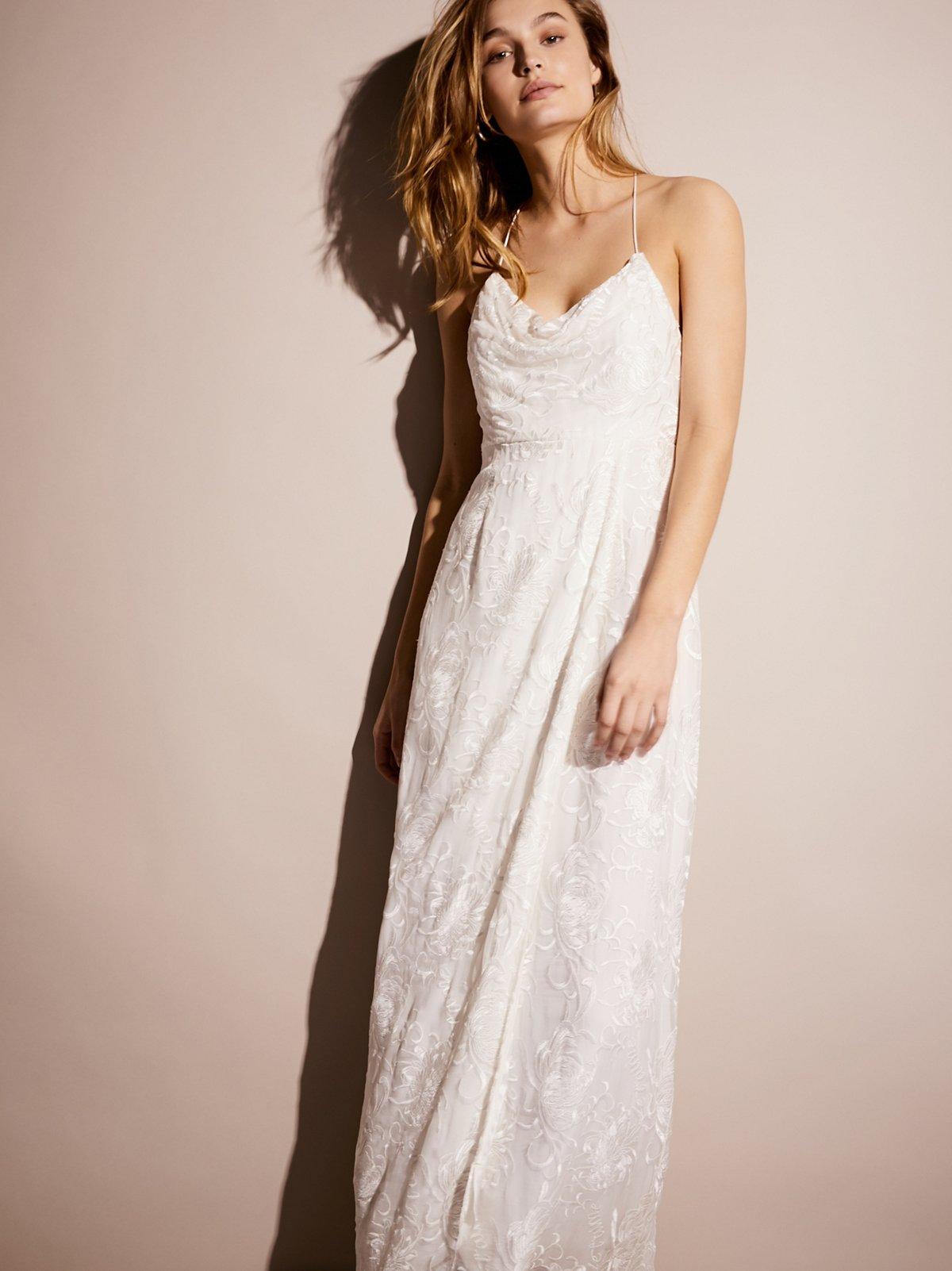 Jill's限量版白色连衣裙