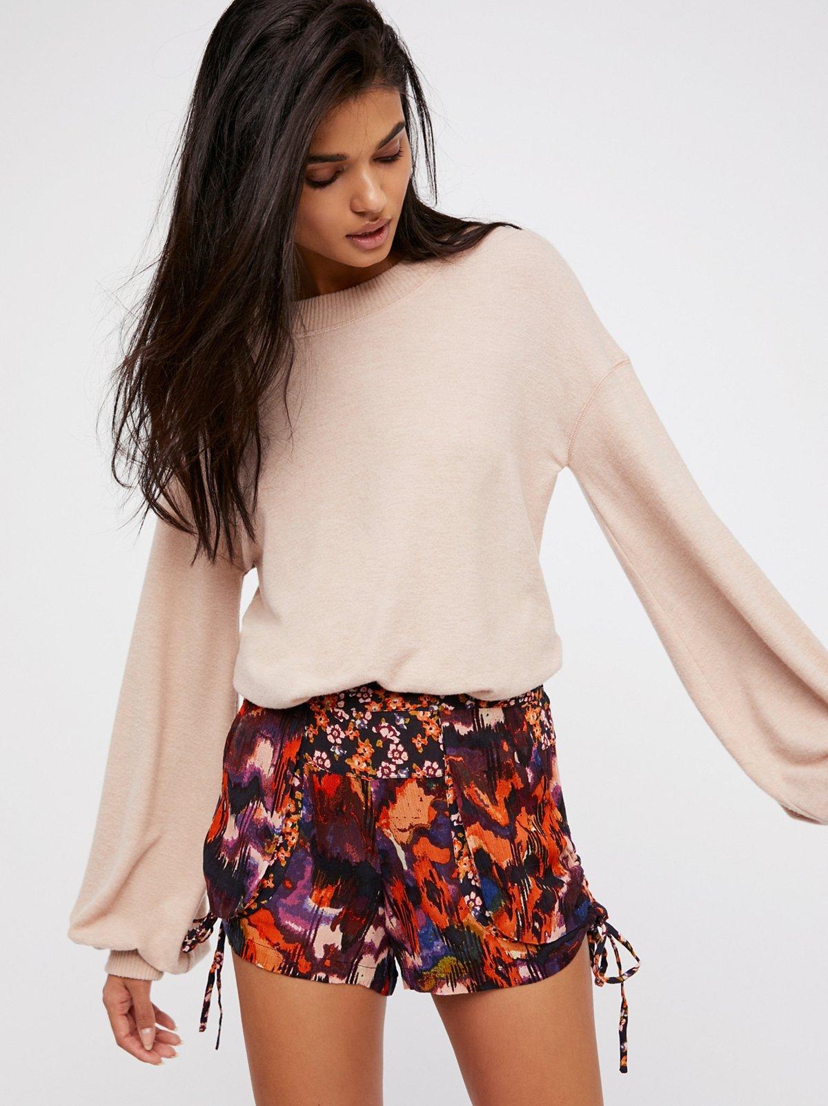 Lisbon柔软短裤
