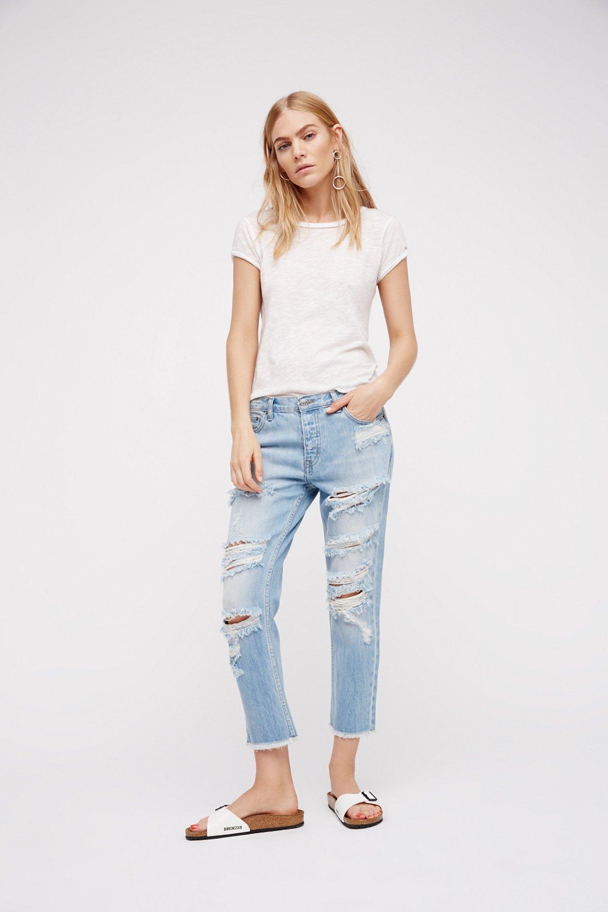 Kick Crop Jean