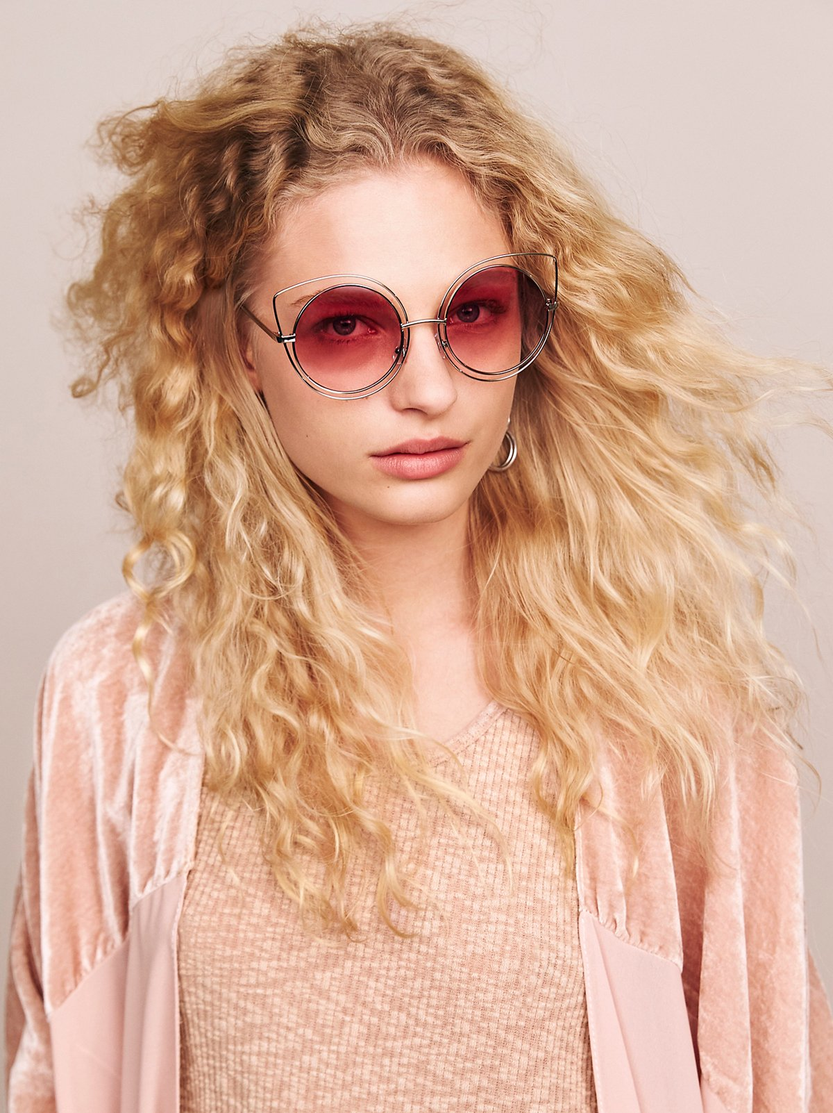 Cool Cat Wire Frame Sunnies