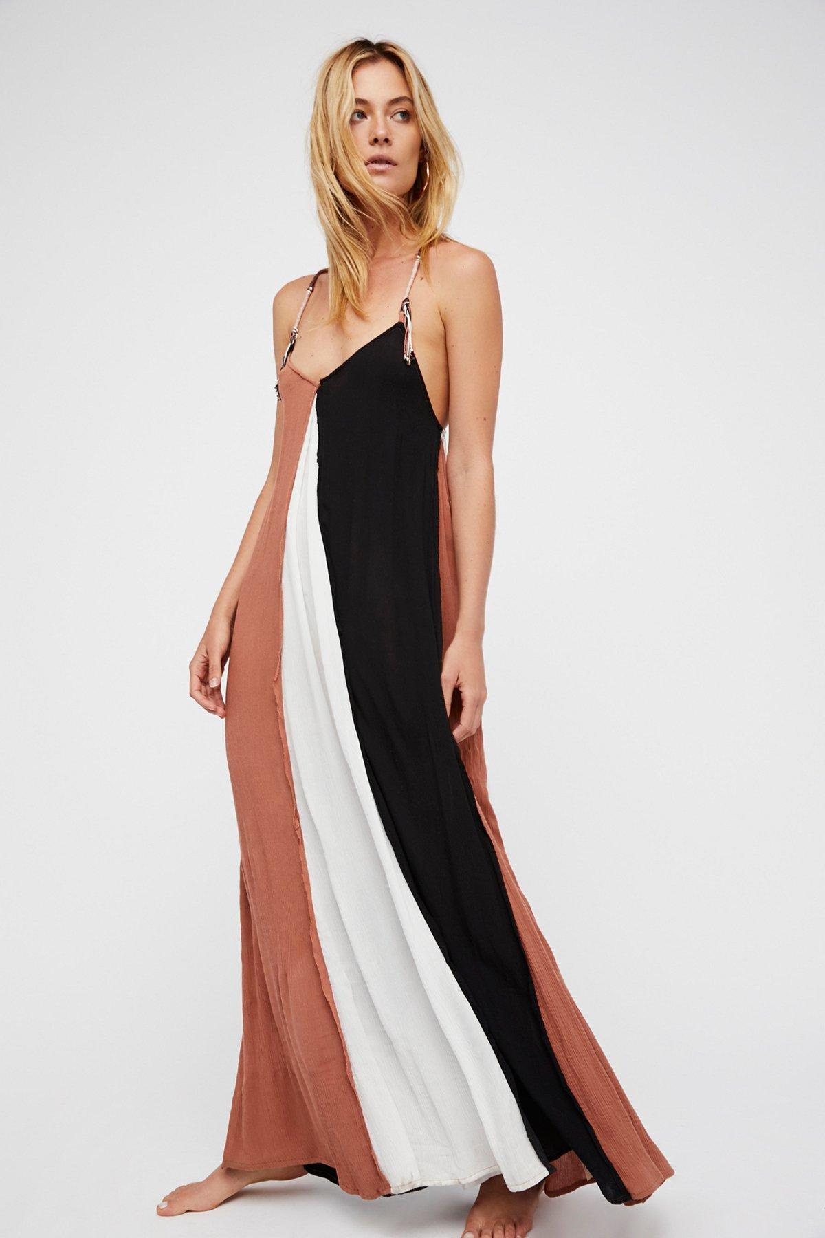 Mixin' It Up Maxi Dress