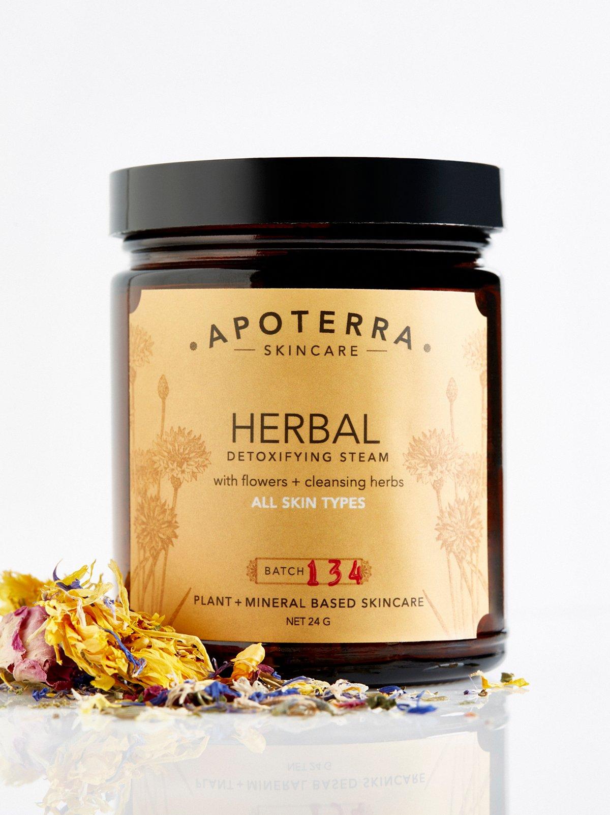 Herbal Detoxifying Steam