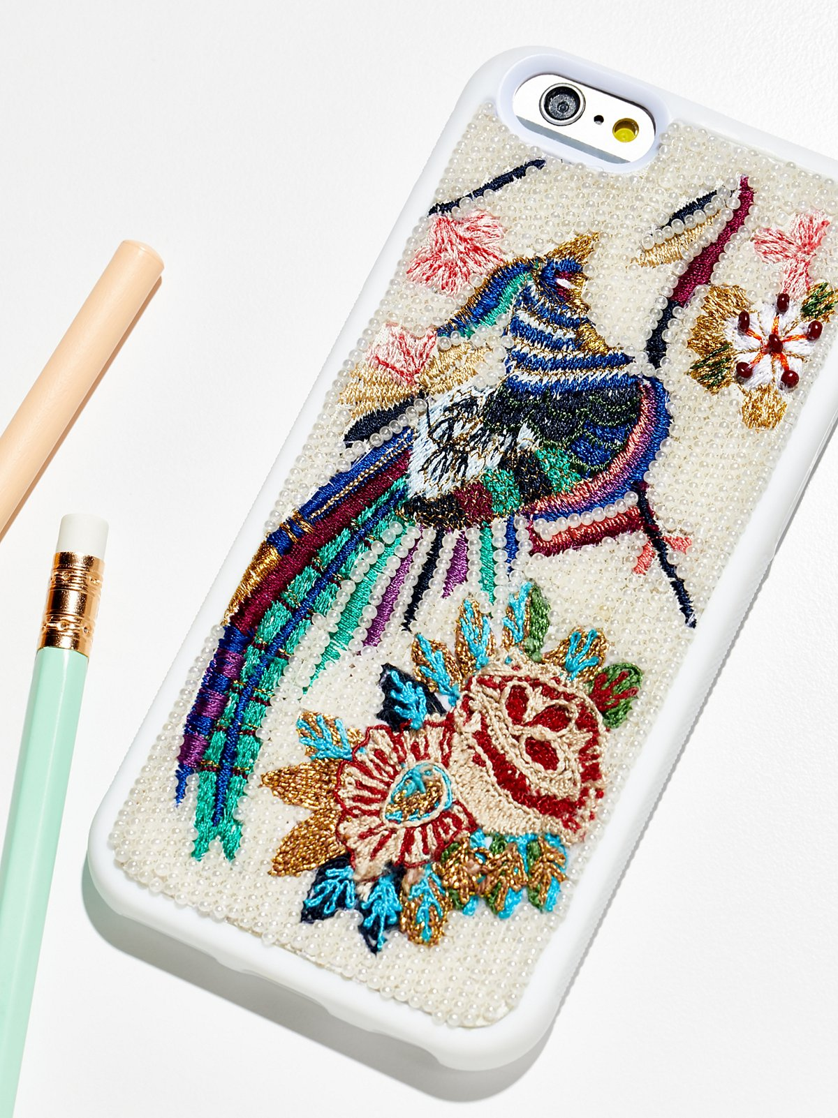 FP Embroidered iPhone Case