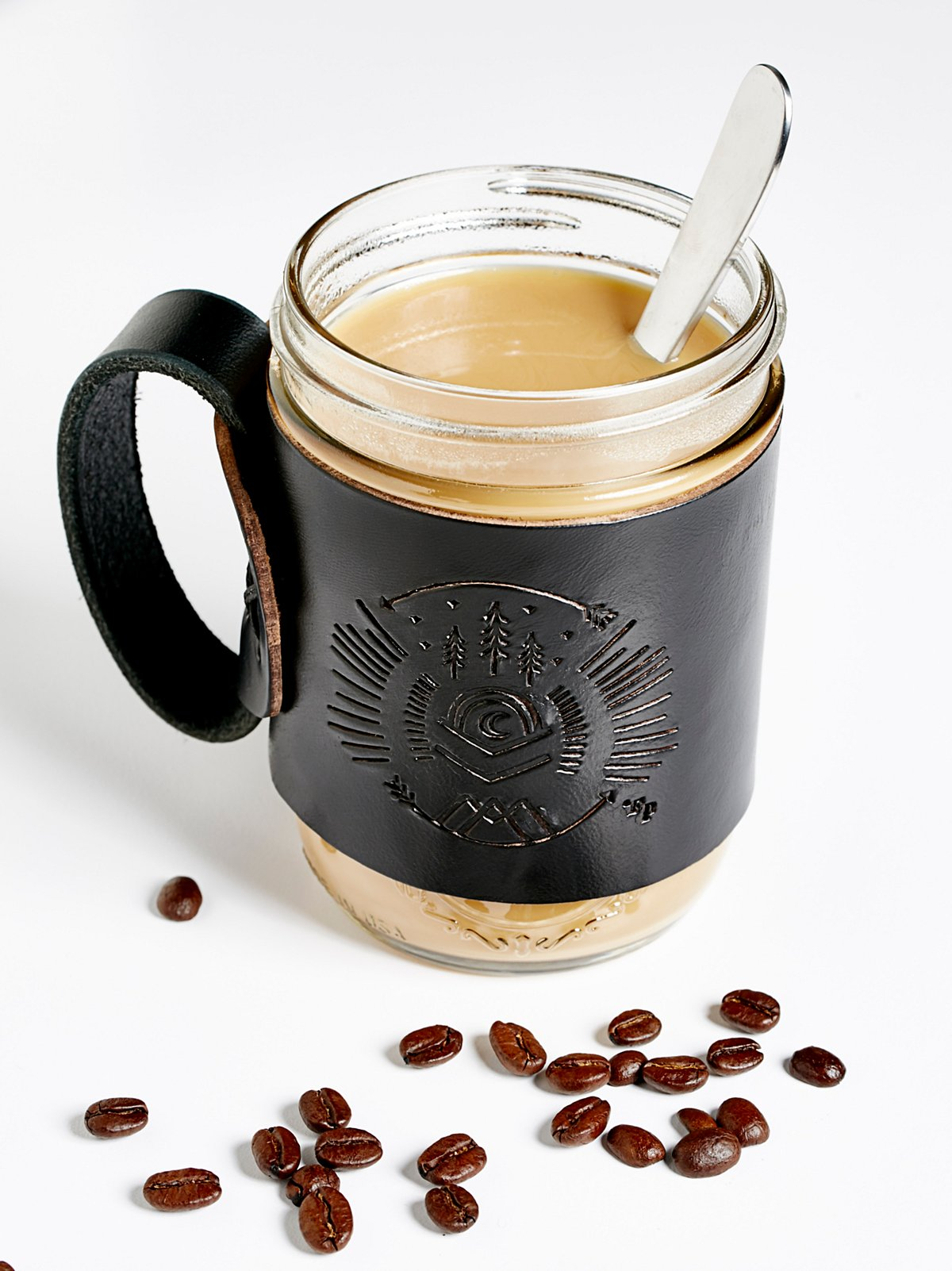 Leather Aviator Coffee Mug