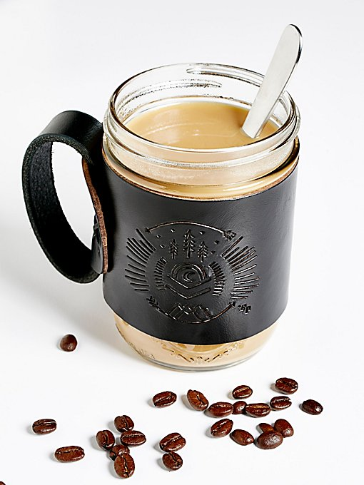 Product Image: Leather Aviator Coffee Mug