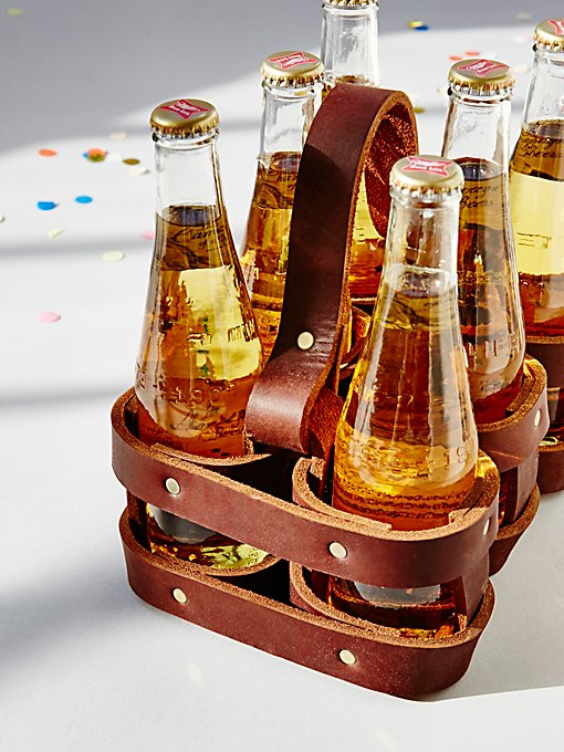 Product Image: 6pk Leather Beer Holder