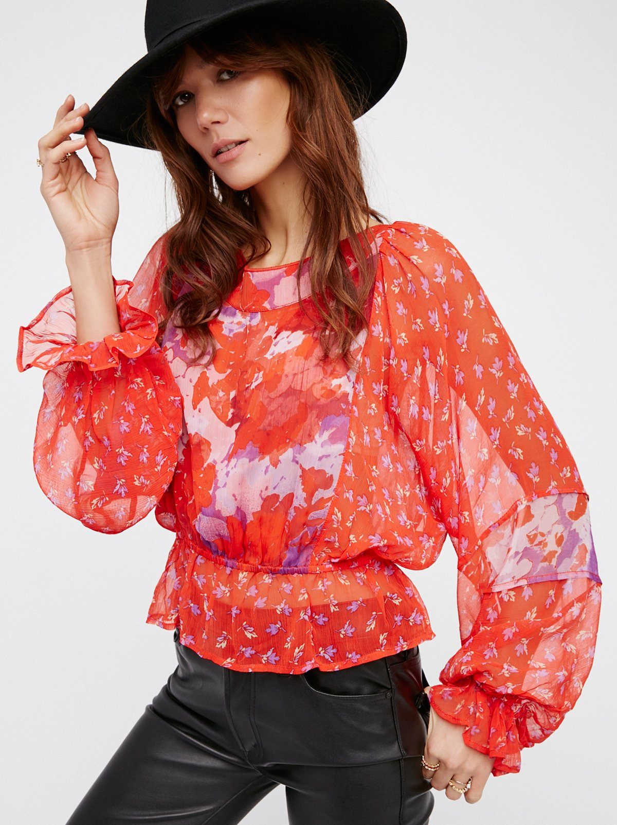 Into The Wilderness Blouse