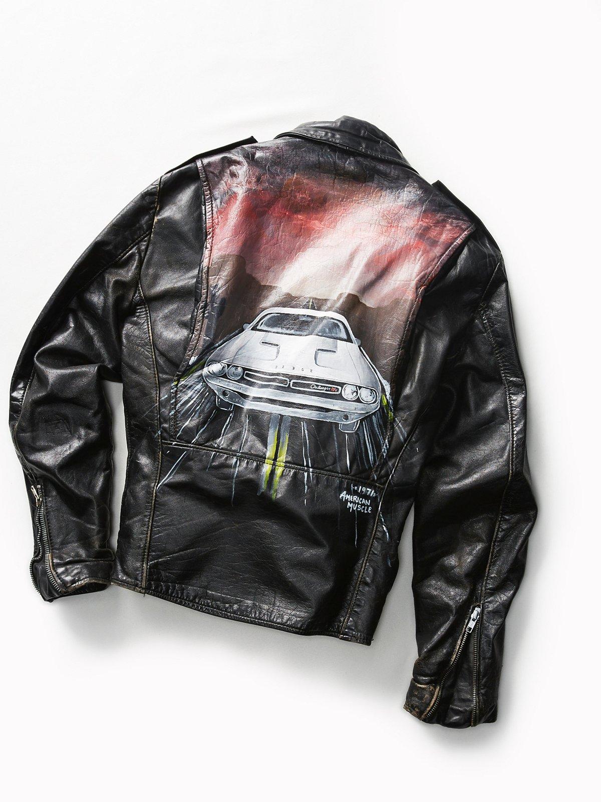 Vintage Moto Jacket 17
