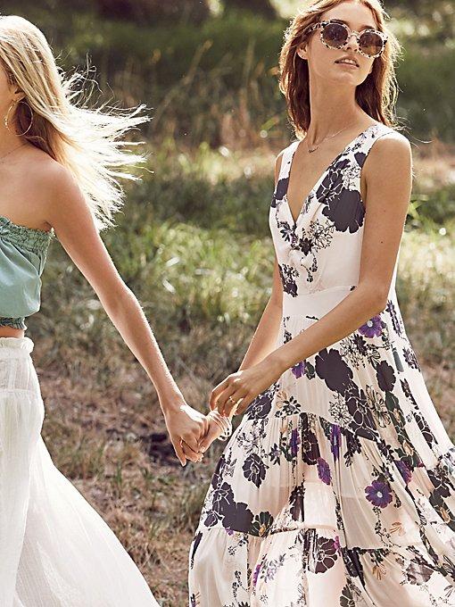 Product Image: Sure Thing Printed Maxi Dress