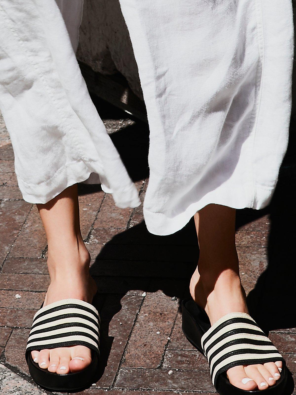 Monica Flatform Slide Sandal