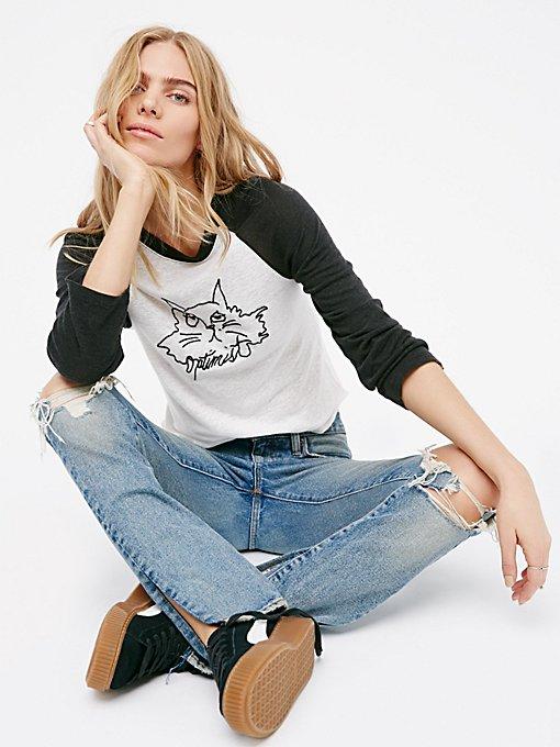 Product Image: Optimist Kitty棒球T恤
