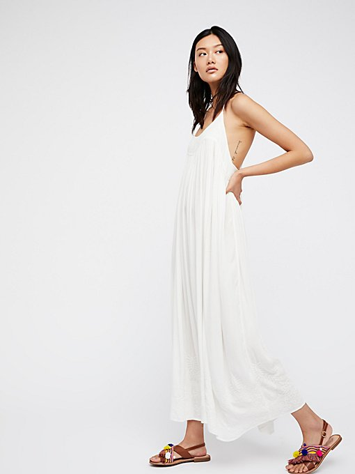 Product Image: Elaine刺绣及踝衬裙