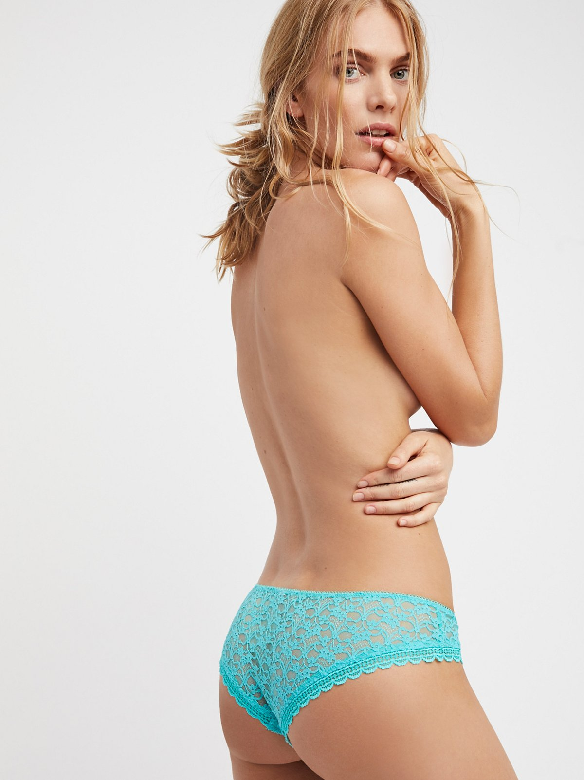 Lace Hipster Knickers