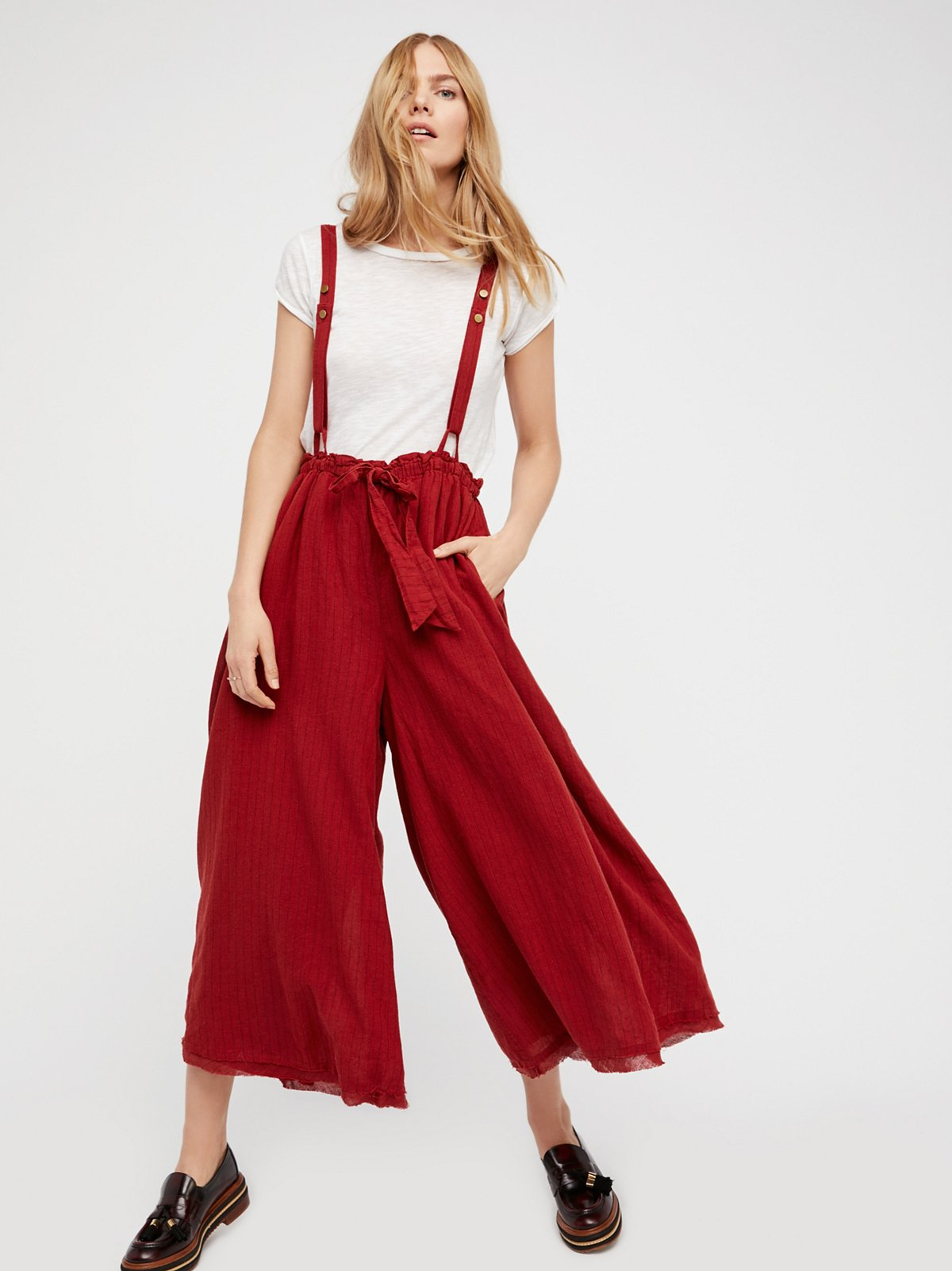 Hop To It Maxi Culottes