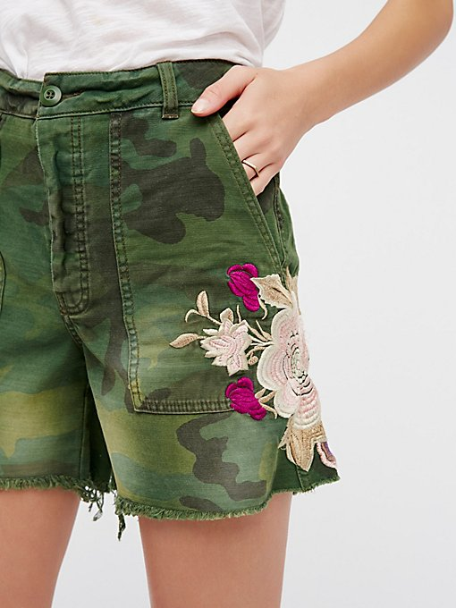 Product Image: Embroidered Scout Short