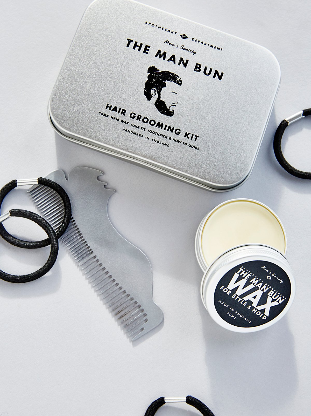 Man Bun Hair Kit