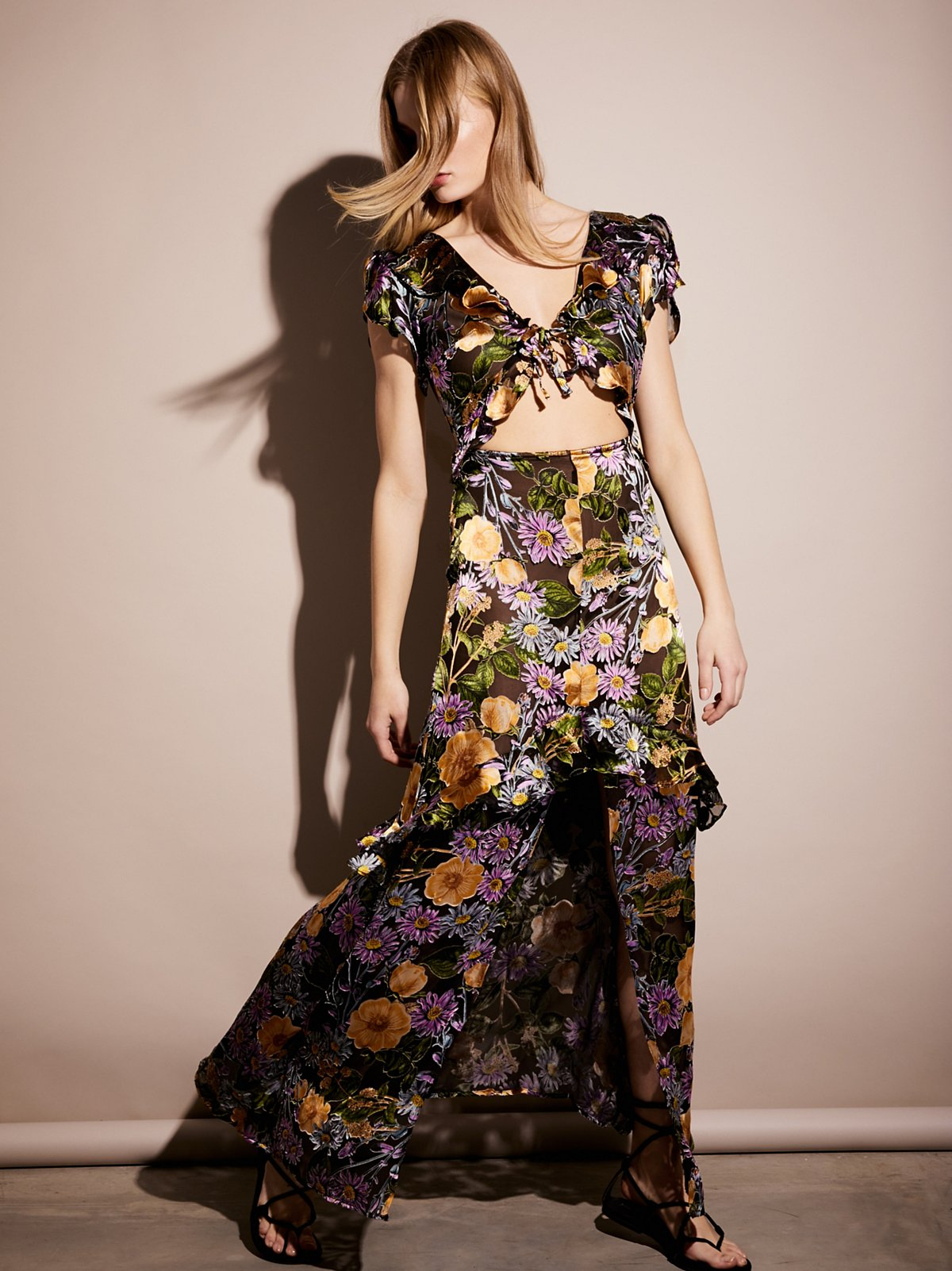 Luciana连身长裙