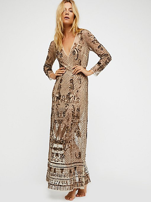 Product Image: Art Deco Embellished Maxi Slip