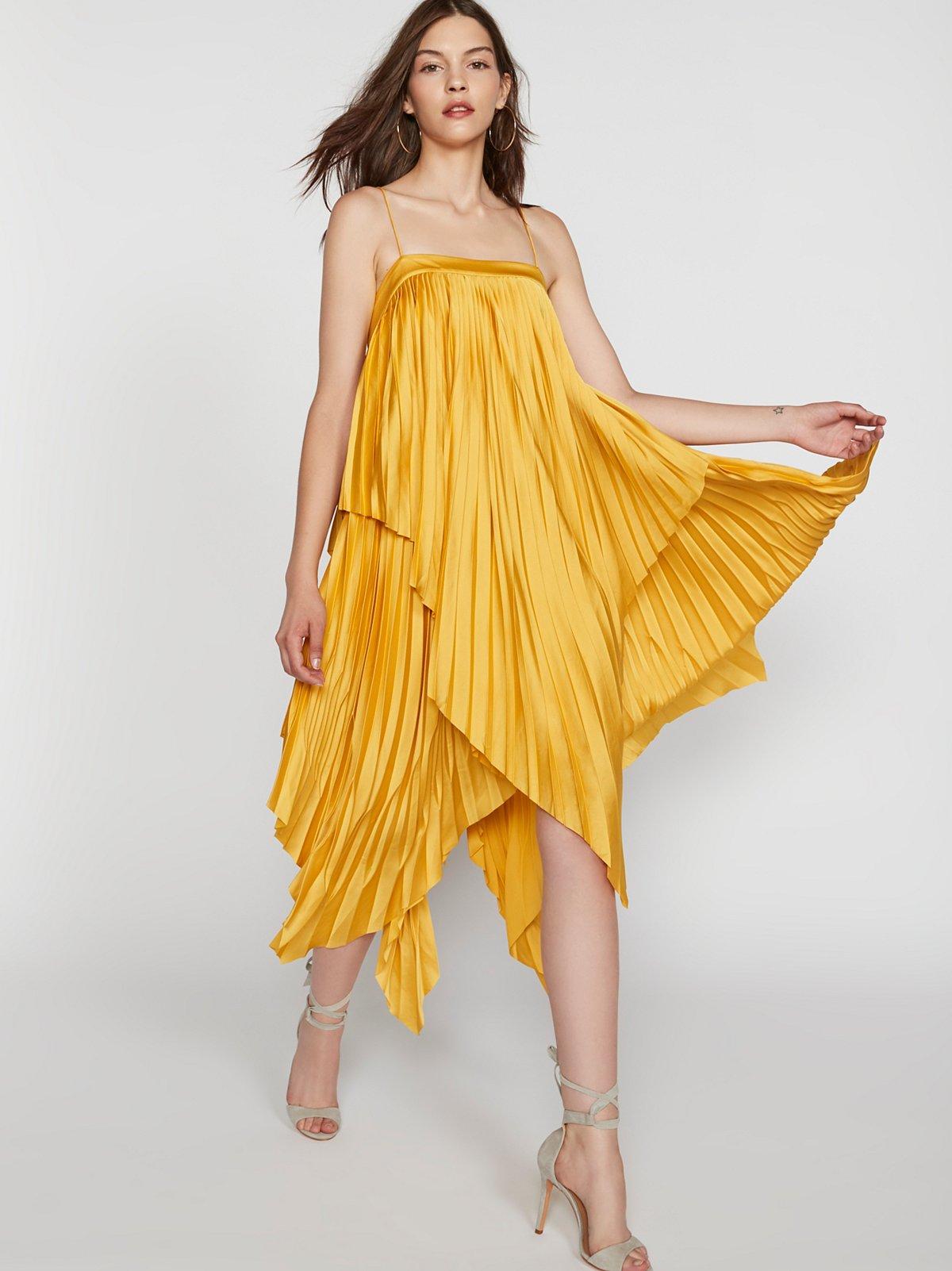 Cedar Pleat Dress