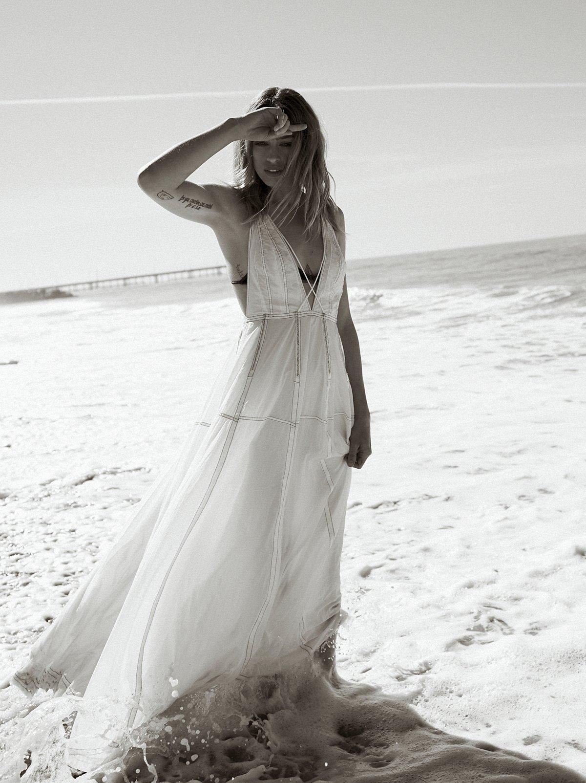 Dana's限量版白色礼服