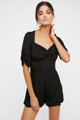maxi dress overlay romper long sleeve