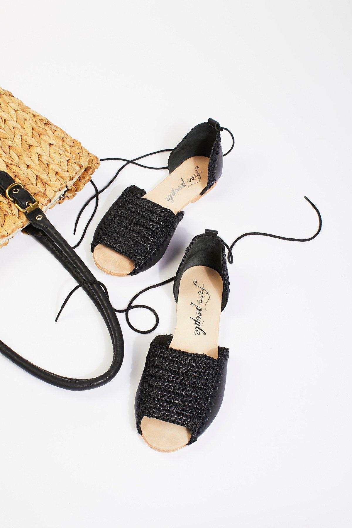 Beaumont梭织平底鞋