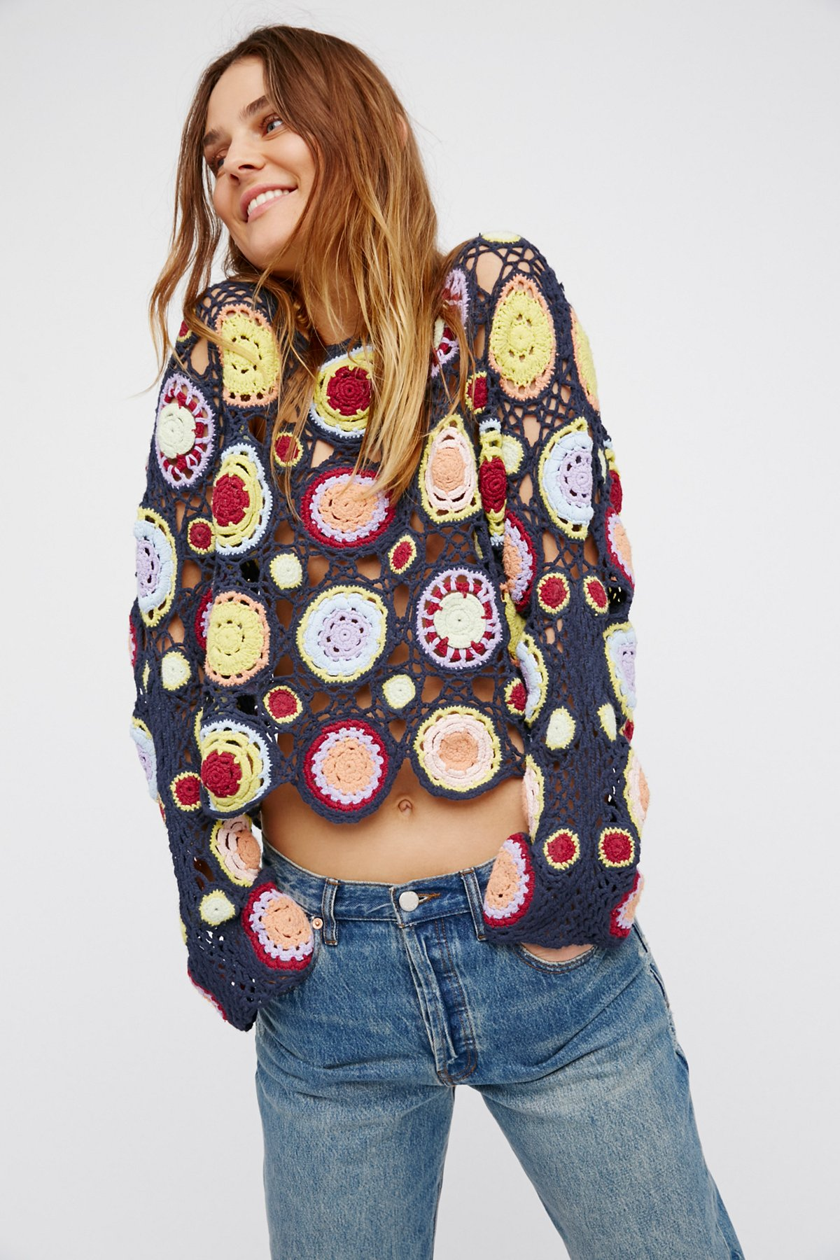 Aurora Crochet Top