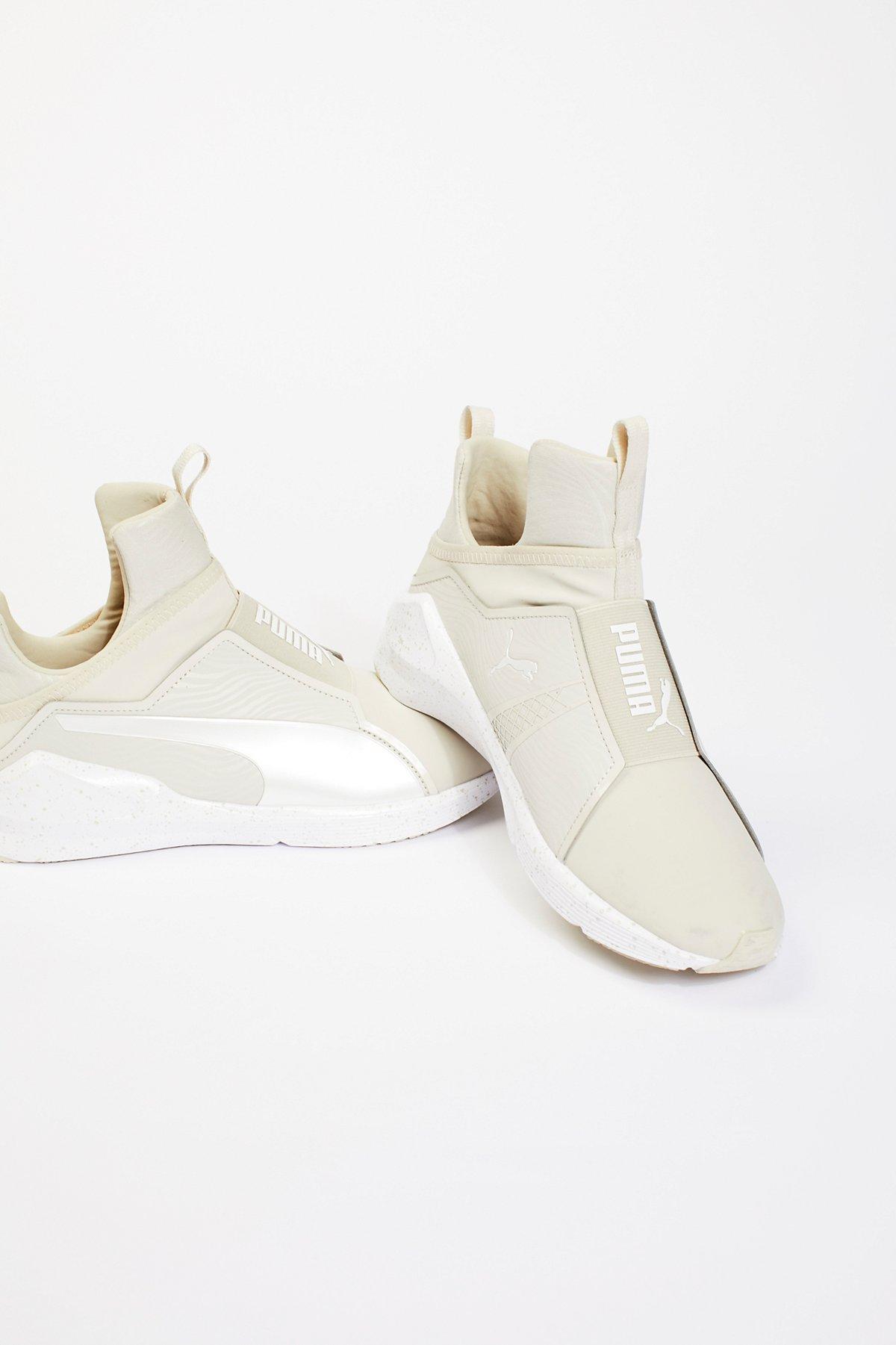 Fierce Denim High Top Sneaker