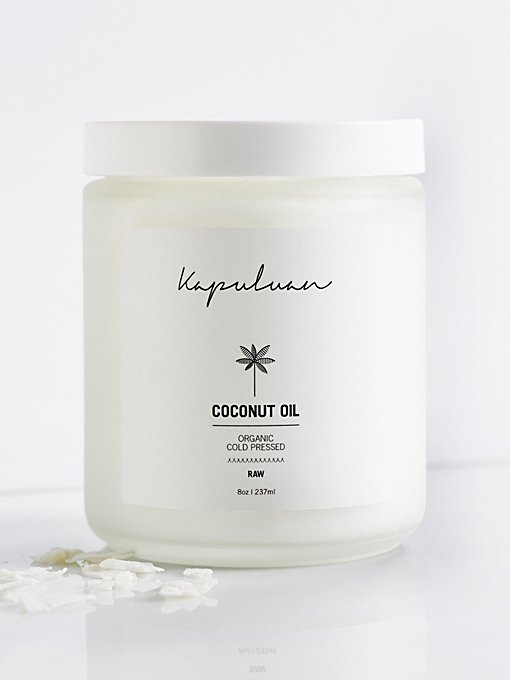 Product Image: Kapuluan 8oz Cold Pressed Coconut Oil