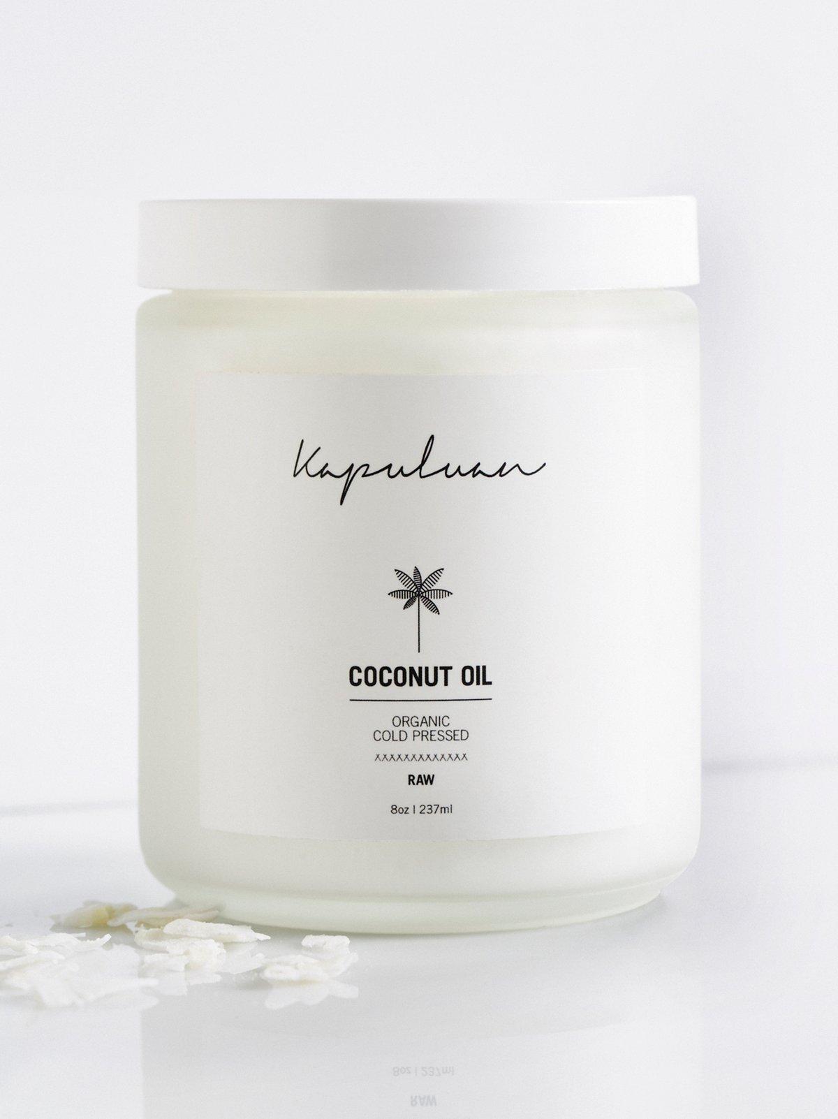 Kapuluan 8oz Cold Pressed Coconut Oil