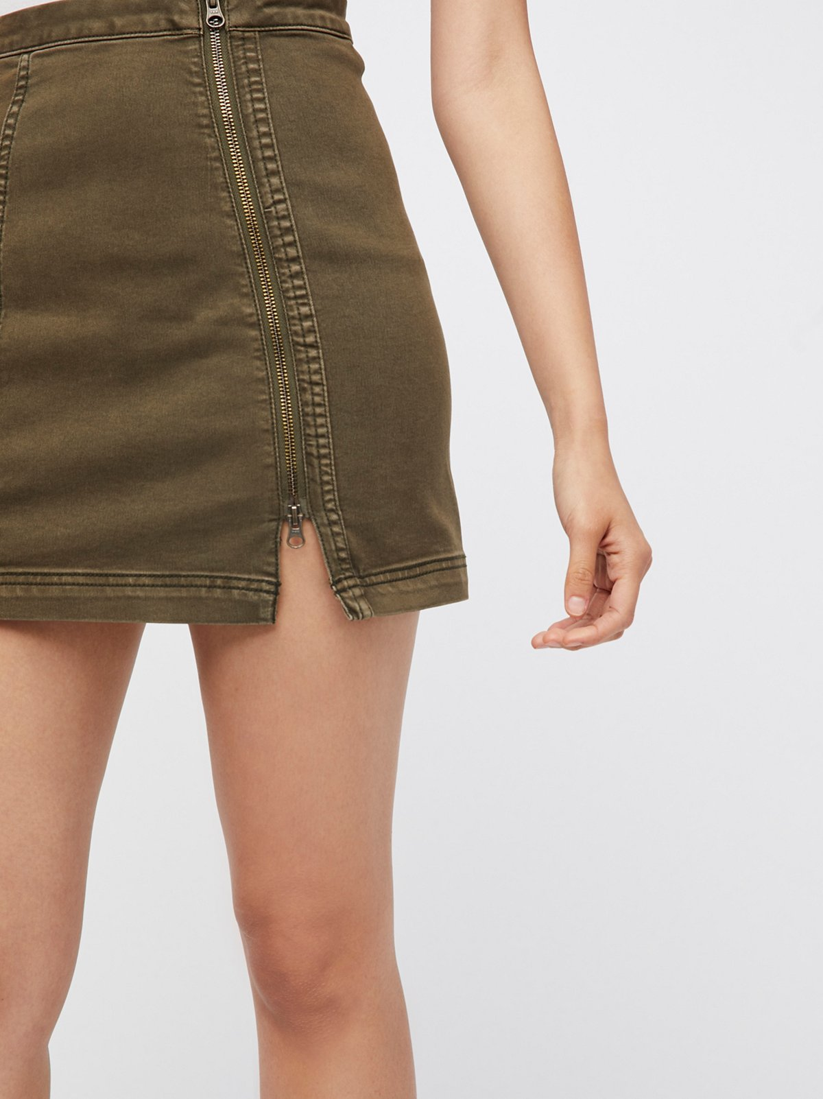 This Way Or That Mini Skirt