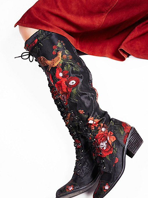 Product Image: Floral Joe Lace Up Boot