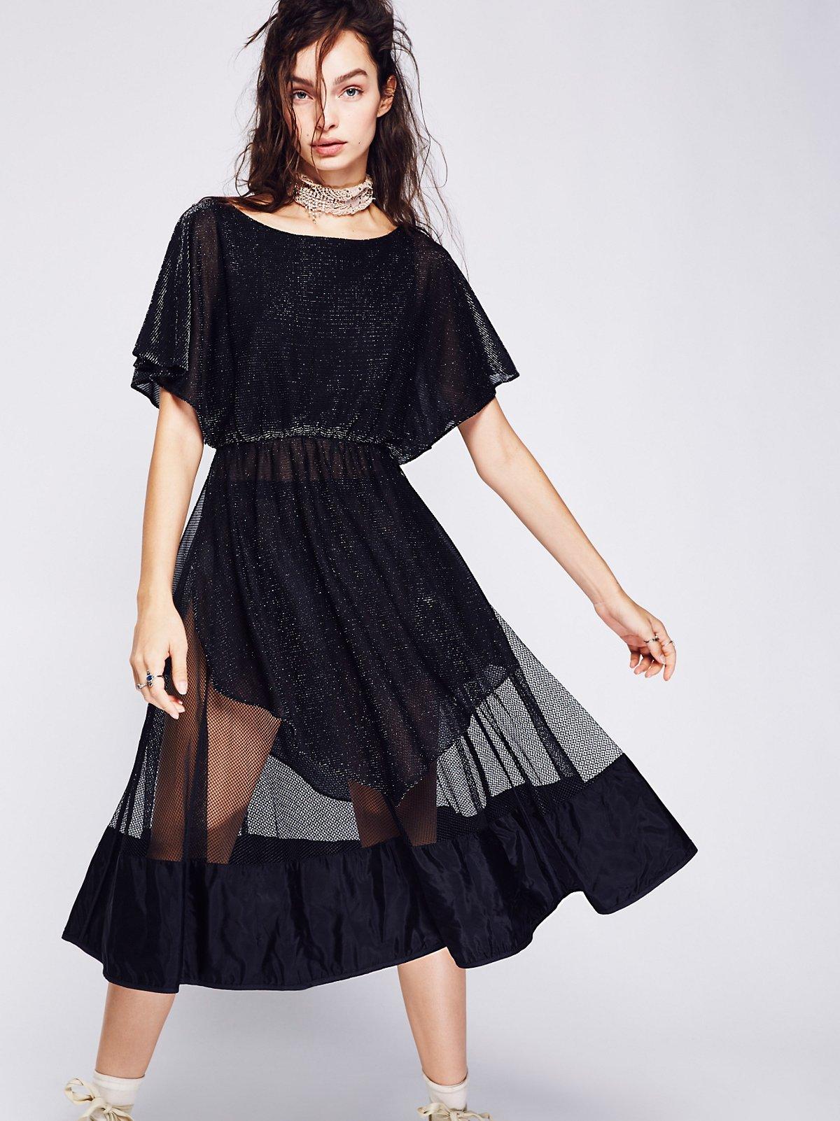 Vintage 1940s Net Skirt