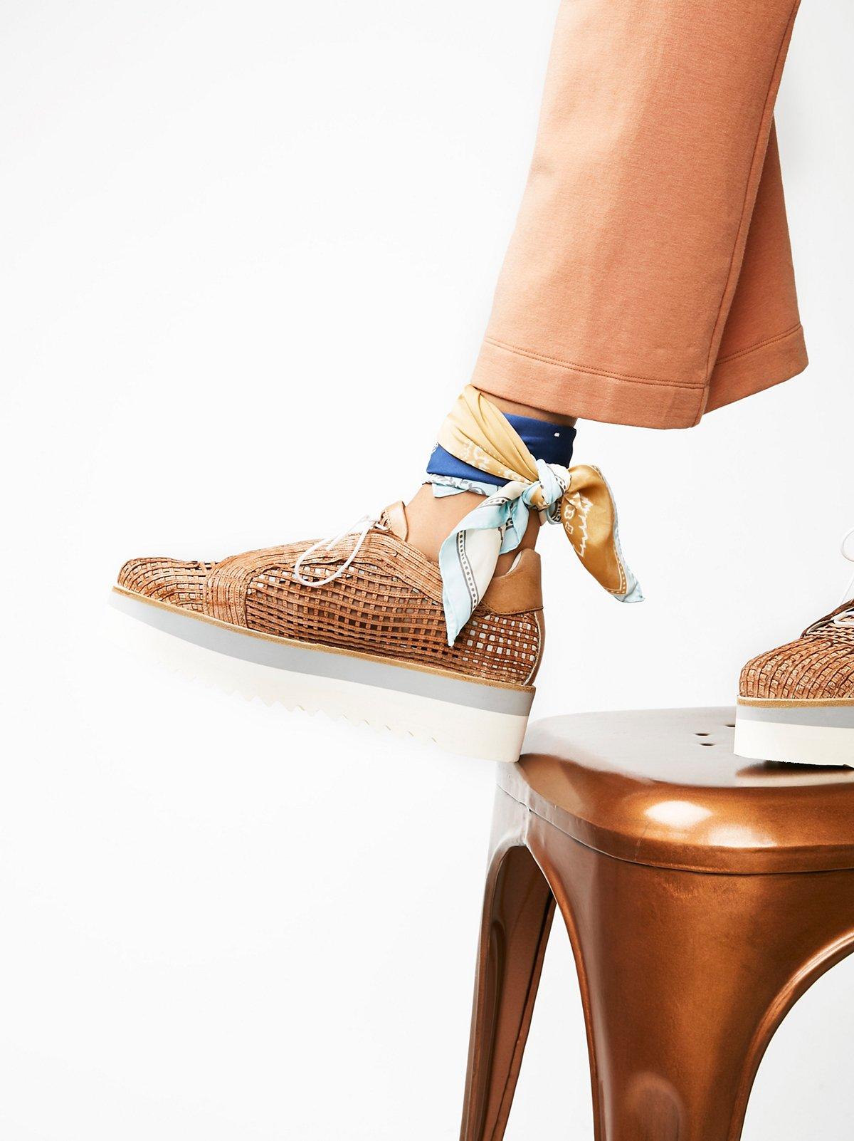 High Street厚底运动鞋